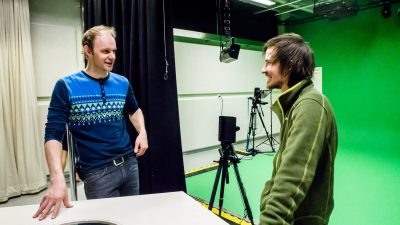 VisualMedia project's visit and focus group interview at Hallingdølen